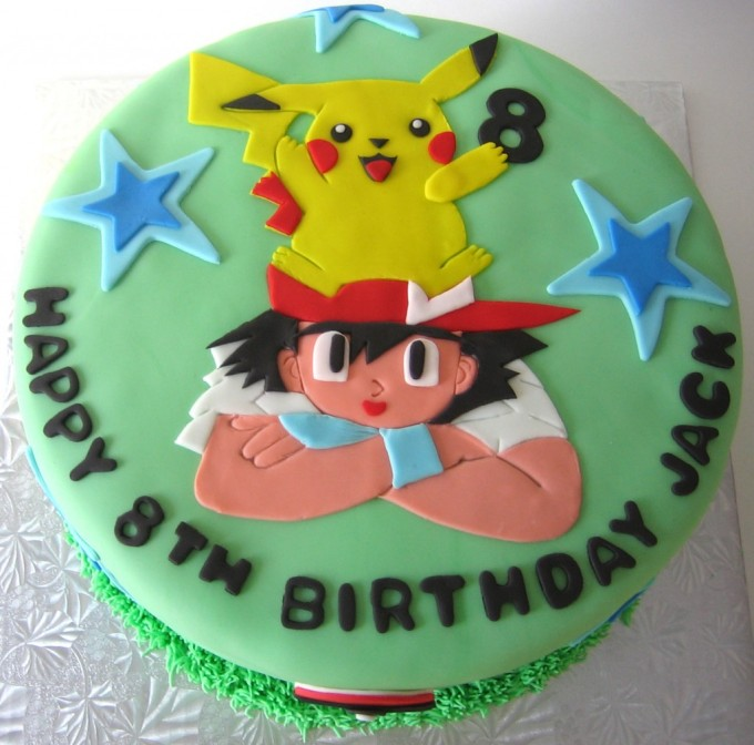 Diy-Pokemon-Birthday-Cake